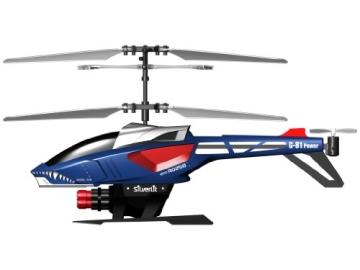 84514 Silverlit Heli Sniper ferngesteuert 3-Kanal Helikopter Infrarot mit Gyro und 6 Raketen zum abschießen, farblich sortiert - 3
