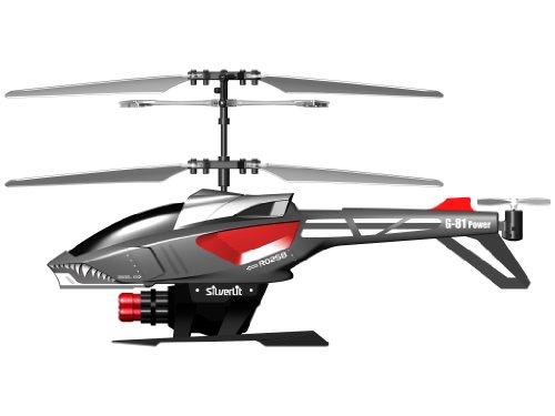 84514 Silverlit Heli Sniper ferngesteuert 3-Kanal Helikopter Infrarot mit Gyro und 6 Raketen zum abschießen, farblich sortiert - 4