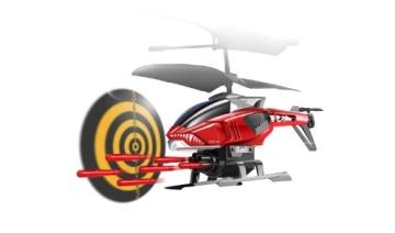 84514 Silverlit Heli Sniper ferngesteuert 3-Kanal Helikopter Infrarot mit Gyro und 6 Raketen zum abschießen, farblich sortiert - 5