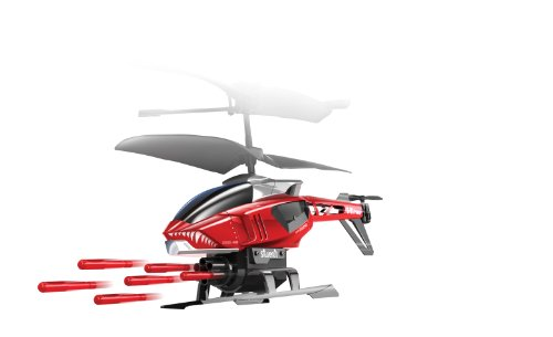 84514 Silverlit Heli Sniper ferngesteuert 3-Kanal Helikopter Infrarot mit Gyro und 6 Raketen zum abschießen, farblich sortiert - 6