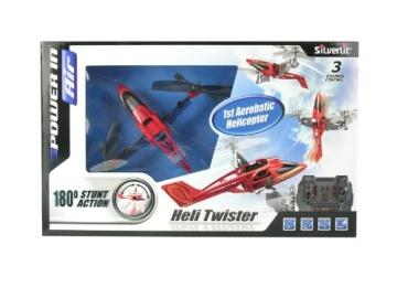 84593 Silverlit Heli Twister ferngesteuert 3-Kanal Helikopter Infrarot mit Drehung um die eigene Achse per Fernbedienung möglich, farblich sortiert - 10