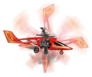 84593 Silverlit Heli Twister ferngesteuert 3-Kanal Helikopter Infrarot mit Drehung um die eigene Achse per Fernbedienung möglich, farblich sortiert - 3