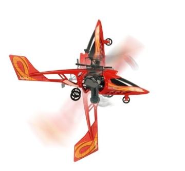 84593 Silverlit Heli Twister ferngesteuert 3-Kanal Helikopter Infrarot mit Drehung um die eigene Achse per Fernbedienung möglich, farblich sortiert - 4