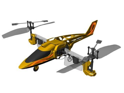 84593 Silverlit Heli Twister ferngesteuert 3-Kanal Helikopter Infrarot mit Drehung um die eigene Achse per Fernbedienung möglich, farblich sortiert - 6