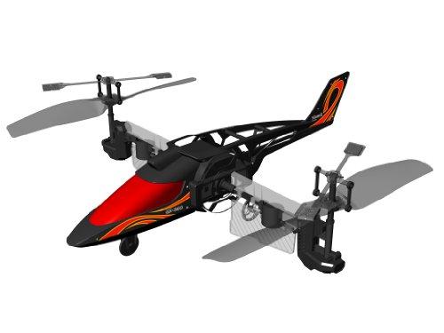 84593 Silverlit Heli Twister ferngesteuert 3-Kanal Helikopter Infrarot mit Drehung um die eigene Achse per Fernbedienung möglich, farblich sortiert - 7