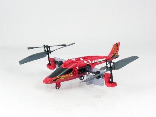 84593 Silverlit Heli Twister ferngesteuert 3-Kanal Helikopter Infrarot mit Drehung um die eigene Achse per Fernbedienung möglich, farblich sortiert - 8