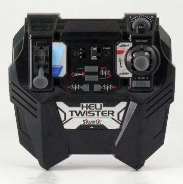 84593 Silverlit Heli Twister ferngesteuert 3-Kanal Helikopter Infrarot mit Drehung um die eigene Achse per Fernbedienung möglich, farblich sortiert - 9