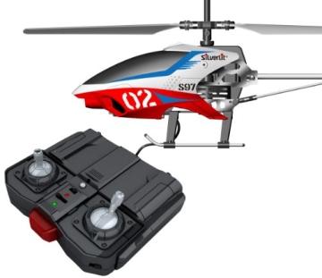 84597 Silverlit Sky Unicorn ferngesteuert 3-Kanal Helikopter Infrarot mit Gyro, farblich sortiert - 1
