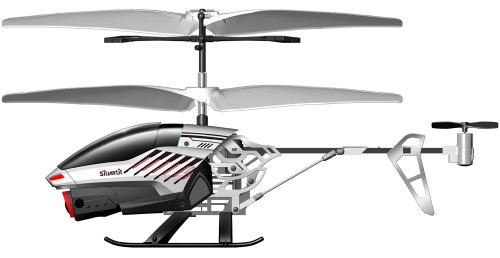 84601 Silverlit Spy Cam II ferngesteuert 3-Kanal Helikopter 2.4GHz mit Gyro und Kamera für Videos bzw. Bilder, farblich sortiert - 4
