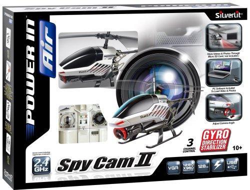 84601 Silverlit Spy Cam II ferngesteuert 3-Kanal Helikopter 2.4GHz mit Gyro und Kamera für Videos bzw. Bilder, farblich sortiert - 7
