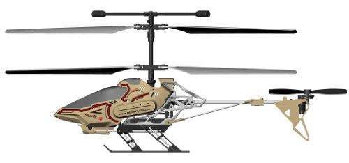 84602 Silverlit Sky Eye ferngesteuert 3-Kanal Helikopter 2.4GHz mit Gyro + Kamera für Video bzw. Bilder + Display in Fernbedienung für Echtzeitübertragung ca. 33cm, farblich sortiert - 4