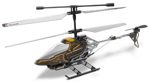 84602 Silverlit Sky Eye ferngesteuert 3-Kanal Helikopter 2.4GHz mit Gyro + Kamera für Video bzw. Bilder + Display in Fernbedienung für Echtzeitübertragung ca. 33cm, farblich sortiert - 5