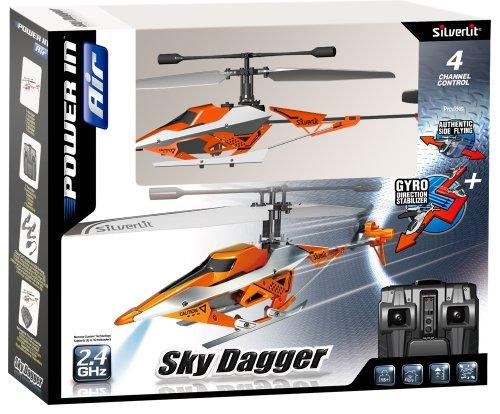 84613 Silverlit Sky Dagger ferngesteuert 4-Kanal Helikopter 2.4GHz mit Gyro, farblich sortiert - 7
