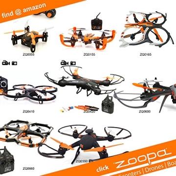 ACME - Ersatzrotorblätter für Helikopter zoopa 150 (AA0153) - 2