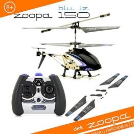 ACME - zoopa 150 blu iz   2,4 GHz Helikopter mit Ambient Lights  60m Reichweite   Alluminiumrahmen   leicht zu fliegen durch neuste Gyrotechnik (AA0178) - 1