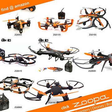 ACME - zoopa 150 Turbo Force Back | !! Nur Helikopter !! | 2,4GHz | Ersatzhelikopter (AA0172) - 4