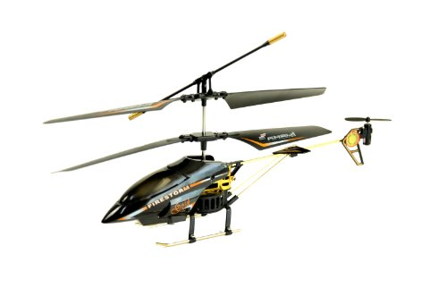 Amewi 25064 - Firestorm GOLD, Indoor Helikopter (GYRO, Turbo-Funktion und LiPo-Akku) - 1