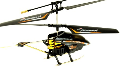 Amewi 25064 - Firestorm GOLD, Indoor Helikopter (GYRO, Turbo-Funktion und LiPo-Akku) - 4