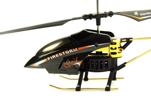 Amewi 25064 - Firestorm GOLD, Indoor Helikopter (GYRO, Turbo-Funktion und LiPo-Akku) - 6