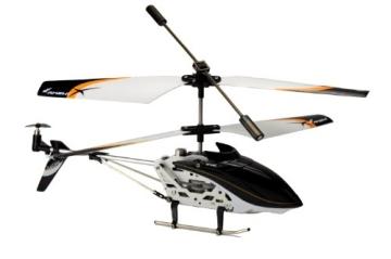 Amewi 25071 - Level X 2.4 GHz 3-Kanal Mini RC Hubschrauber mit Gyro RTF - 2
