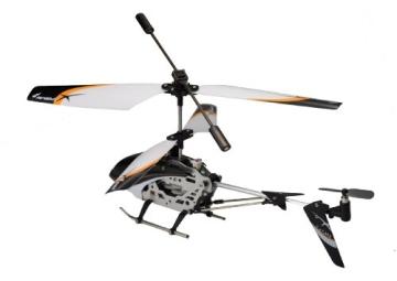Amewi 25071 - Level X 2.4 GHz 3-Kanal Mini RC Hubschrauber mit Gyro RTF - 3