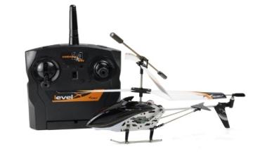 Amewi 25071 - Level X 2.4 GHz 3-Kanal Mini RC Hubschrauber mit Gyro RTF - 4