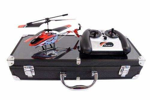 Amewi 25072 - Level X IR, Indoor Helikopter im Alukoffer (GYRO, USB, LiPo-Akku) - 4