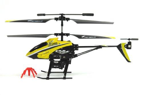 AMEWI 25089 - Firestorm Cargo 3.5 Kanal Gyro Mini Hubschrauber mit Seilwinde - 4