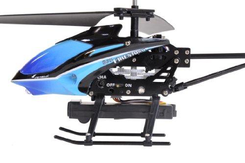AMEWI 25093 - Firestorm Spy 3.5 Kanal Gyro Mini Hubschrauber mit Videokamera - 5