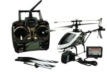 Amewi 25137 - Buzzard 4 Kanal Helikopter, 2.4 GHz - 4