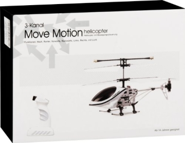 fun2get 777-290 - Helikopter Move Motion, weiß - 4