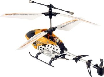 Fun2Get YD-113 - RC Mini Helikopter mit Motion Control Steuerung RTF mit Gyro-Technologie, orange - 3
