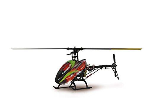 Jamara 031556 - Helikopter, RC E-Rix 450 Carbon Pro RTF Gas links - 1