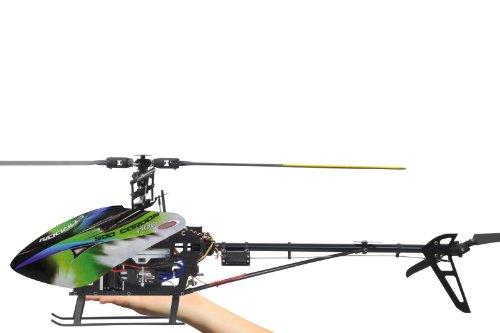 Jamara 031558 - Helikopter, RC E-Rix 500 Carbon Pro RTF Gas links - 3