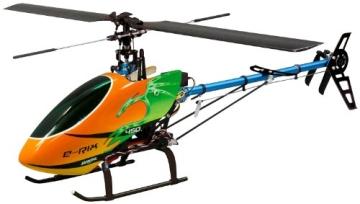 Jamara 031560 - RC E-Rix 450 Carbon RTF Gas links Eingeflogen inklusive 2,4 GHz Fernsteuerung - 1
