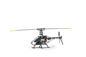 Jamara 031560 - RC E-Rix 450 Carbon RTF Gas links Eingeflogen inklusive 2,4 GHz Fernsteuerung - 3
