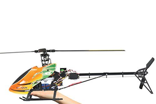 Jamara 031560 - RC E-Rix 450 Carbon RTF Gas links Eingeflogen inklusive 2,4 GHz Fernsteuerung - 4