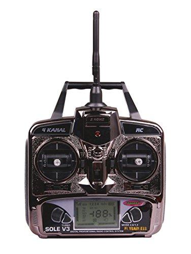 Jamara 032610 - Sole V3 Flybarless Helikopter, inklusive 2.4 GHz Fernsteuerung - 3
