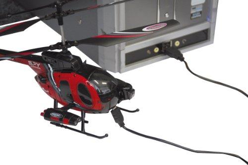 Jamara 037065 - RC Spy Copter 500 mit Gyro und Camera inklusive 2.4 GHz Fernsteuerung - 8