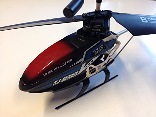 RC Joystick Helikopter - Hubschrauber - mit 2,4 GHz Cockpitpult RC Doppelrotor Hubschrauber RtF - 9