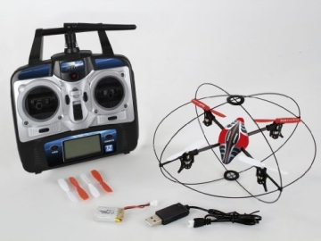 Revell Control 23986 - Quadrocopter, Atomium, RTF/4CH/GHz ferngesteuerter Helikopter - 2
