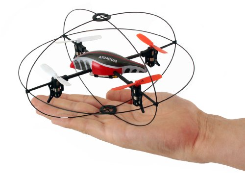Revell Control 23986 - Quadrocopter, Atomium, RTF/4CH/GHz ferngesteuerter Helikopter - 7