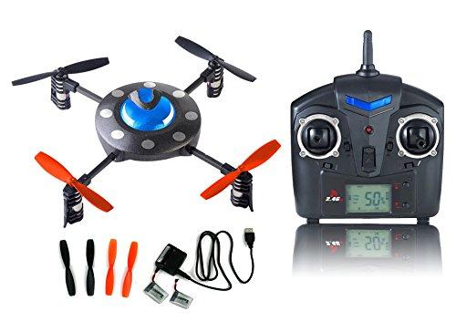 s-idee® 01114 | Quadcopter 4.5 Kanal 2,4 Ghz Quadrocopter RC ferngesteuerter Hubschrauber/Helikopter/Heli mit GYROSCOPE-TECHNIK + 2,4Ghz TECHNOLOGIE!!! für INNEN und AUSSEN brandneu mit eingebautem GYRO und 2.4 GHz Steuerung! FLUGFERTIG! - 1