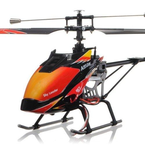 s-idee® 01142 | V913 4.5 Kanal 2,4 Ghz Heli Hubschrauber RC ferngesteuerter Hubschrauber/Helikopter/Heli mit LCD Display und GYROSCOPE-TECHNIK + 2,4Ghz TECHNOLOGIE!!! für INNEN und AUSSEN brandneu mit eingebautem GYRO und 2.4 GHz Steuerung! FLUGFERTIG! - 1