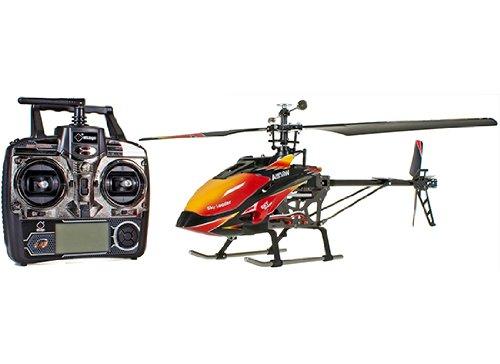 s-idee® 01142 | V913 4.5 Kanal 2,4 Ghz Heli Hubschrauber RC ferngesteuerter Hubschrauber/Helikopter/Heli mit LCD Display und GYROSCOPE-TECHNIK + 2,4Ghz TECHNOLOGIE!!! für INNEN und AUSSEN brandneu mit eingebautem GYRO und 2.4 GHz Steuerung! FLUGFERTIG! - 2