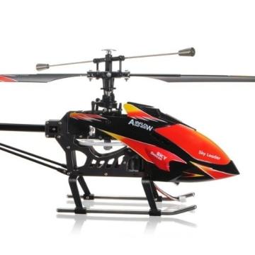 s-idee® 01142 | V913 4.5 Kanal 2,4 Ghz Heli Hubschrauber RC ferngesteuerter Hubschrauber/Helikopter/Heli mit LCD Display und GYROSCOPE-TECHNIK + 2,4Ghz TECHNOLOGIE!!! für INNEN und AUSSEN brandneu mit eingebautem GYRO und 2.4 GHz Steuerung! FLUGFERTIG! - 3