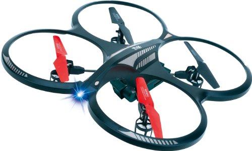 s-idee® 01162 Quadcopter mit Kamera 4.5 Kanal 2,4 Ghz Quadrocopter RC ferngesteuerter Hubschrauber/Helikopter/Heli mit GYROSCOPE-TECHNIK + 2,4Ghz TECHNOLOGIE!!! für INNEN und AUSSEN brandneu mit eingebautem GYRO und 2.4 GHz Steuerung! FLUGFERTIG! - 1