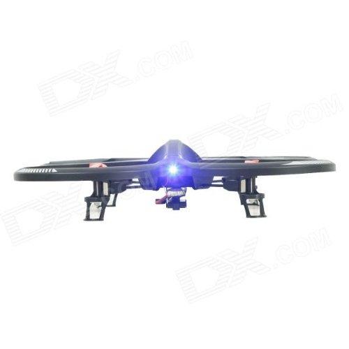 s-idee® 01162 Quadcopter mit Kamera 4.5 Kanal 2,4 Ghz Quadrocopter RC ferngesteuerter Hubschrauber/Helikopter/Heli mit GYROSCOPE-TECHNIK + 2,4Ghz TECHNOLOGIE!!! für INNEN und AUSSEN brandneu mit eingebautem GYRO und 2.4 GHz Steuerung! FLUGFERTIG! - 2