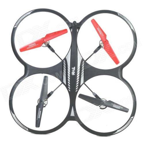 s-idee® 01162 Quadcopter mit Kamera 4.5 Kanal 2,4 Ghz Quadrocopter RC ferngesteuerter Hubschrauber/Helikopter/Heli mit GYROSCOPE-TECHNIK + 2,4Ghz TECHNOLOGIE!!! für INNEN und AUSSEN brandneu mit eingebautem GYRO und 2.4 GHz Steuerung! FLUGFERTIG! - 3