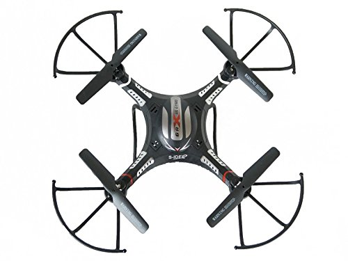 s-idee 01251 Quadrocopter S183C HD KAMERA 4.5 Kanal 2.4 Ghz Drohne mit Gyroscope Technik - 3